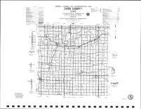 Cass County Highway Map, Montgomery County 1989